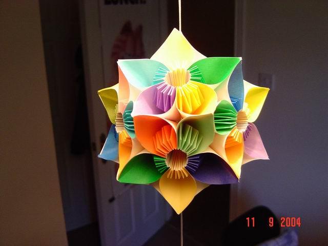 各种花的折法步骤图