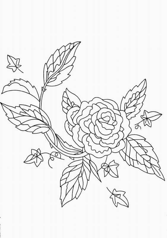 刺绣图案手绘图案