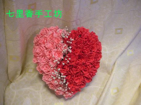 原木河diy手艺论坛→我的纸花作品(新增玫瑰与满天星